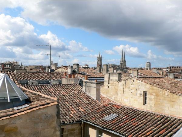 Photo Bordeaux - Vue des toits du quartier Saint-Pierre