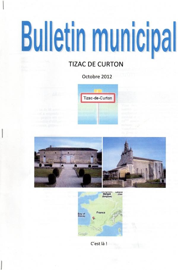 Photo Branne - emplacement salle polyvalente de Tizac de Curton