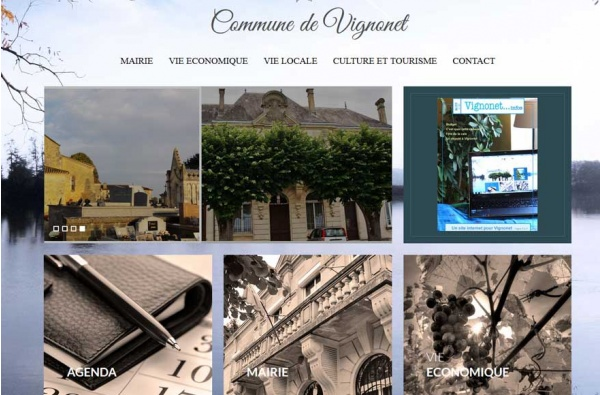 Site Officiel de Vignonet