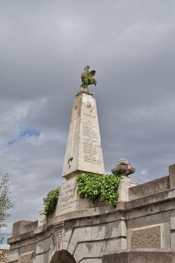 Photo Abeilhan - le Monument Aux Morts