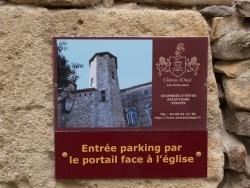 Photo paysage et monuments, Agel - Château
