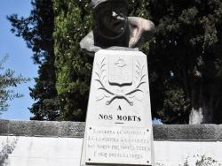 Photo paysage et monuments, Aniane - le Monument Aux Morts