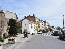Photo paysage et monuments, Bouzigues - le village