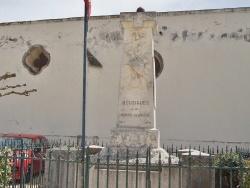 Photo paysage et monuments, Bouzigues - le monument Aux Morts