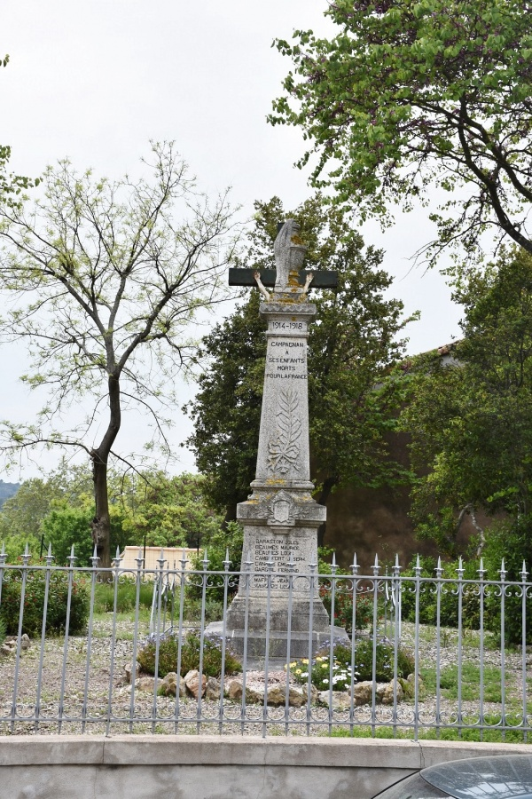 Photo Campagnan - le Monument Aux Morts