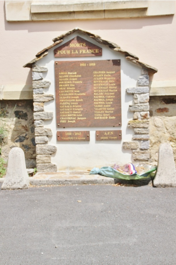 Photo Castanet-le-Haut - le monument aux morts