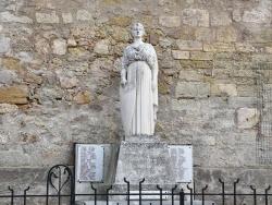 Photo paysage et monuments, Castelnau-de-Guers - la Statue