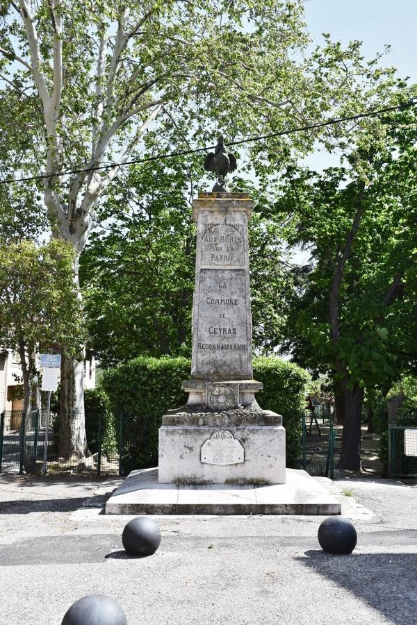 Photo Ceyras - le Monument Aux Morts