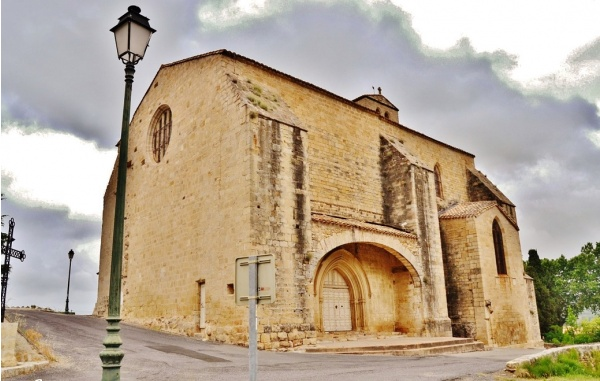 Photo Fontès - L'église