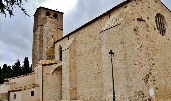 Photo Fontès - L'église