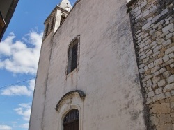 Photo paysage et monuments, Murviel-lès-Montpellier - église Saint Jean Baptiste