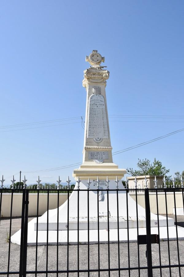 Photo Pouzols - le Monument Aux Morts