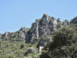 Photo paysage et monuments, Saint-Guilhem-le-Désert - la Montagne