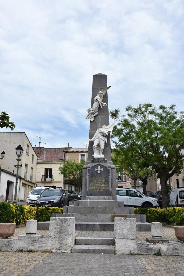 Photo Villeveyrac - le Monument Aux Morts