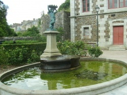 Photo paysage et monuments, Antrain - Antrain - Fontaine