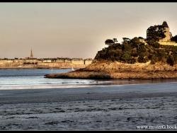 Photo paysage et monuments, Dinard - chemin du clair de lune