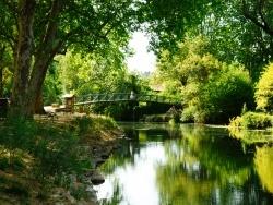 Photo paysage et monuments, Azay-le-Rideau - Azay le Rideau, bord de l'Indre.