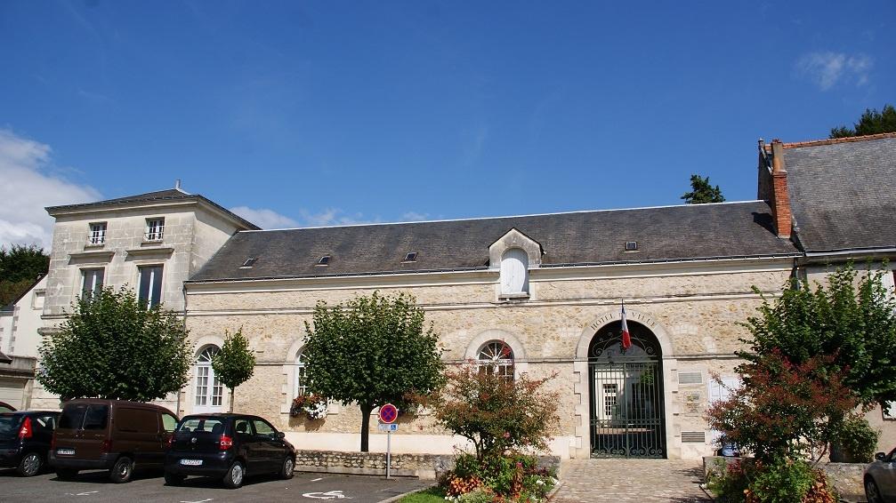 la mairie - une photo de Azay-le-Rideau