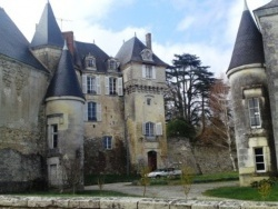 Photo paysage et monuments, La Celle-Guenand - chateau de la celle guenand