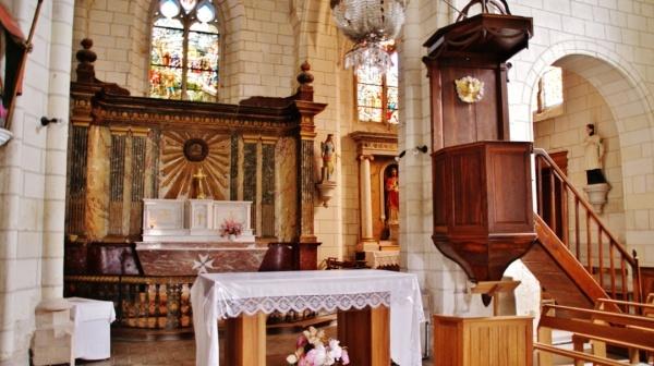Photo La Chapelle-Blanche-Saint-Martin - L'église