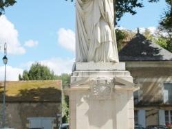 Photo paysage et monuments, Richelieu - Statue