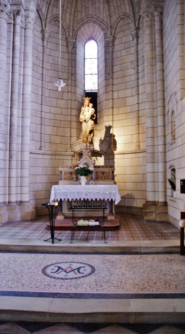Photo Sainte-Maure-de-Touraine - église Sainte-Maure