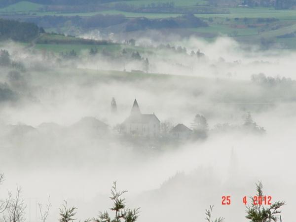 Roissard, un beau matin du 25 avril 2012