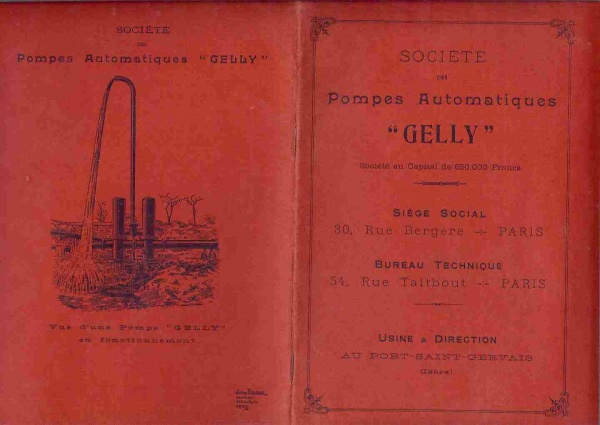 Pompes automatiques Gelly