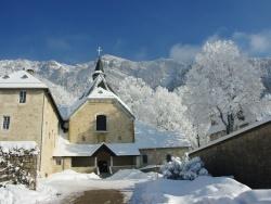 Photo paysage et monuments, Voreppe - monastère de Chalais en hiver