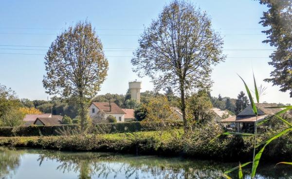 Abergement .La . Ronce, canal du Rhône Rhin. B.