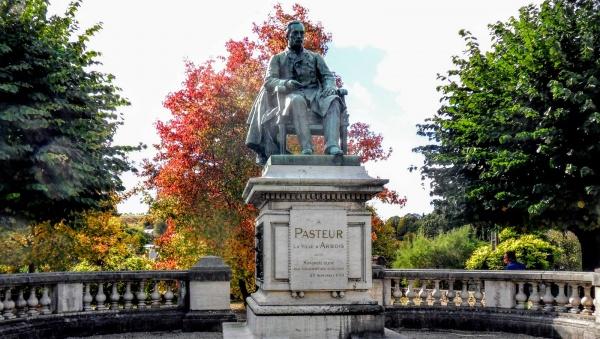 Arbois Jura, Statue de Louis Pasteur
