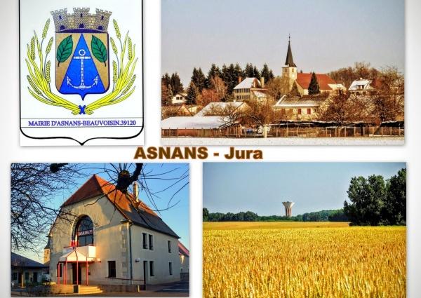 Asnans Jura - Montage photos.