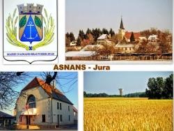 Photo paysage et monuments, Asnans-Beauvoisin - Asnans Jura - Montage photos.