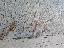 Photo dessins et illustrations, Asnans-Beauvoisin - Asnans Jura. Atelier mosaïque, le givre, influence Claude Monet.