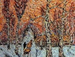 Photo dessins et illustrations, Asnans-Beauvoisin - Asnans jura atelier mosaïques; Humeur Hivernale.