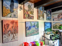 Photo dessins et illustrations, Asnans-Beauvoisin - Asnans Jura; Atelier mosaïques septembre 2020.