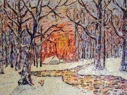 Photo dessins et illustrations, Asnans-Beauvoisin - Asnans jura; atelier mosaïques; promenade en forêt.