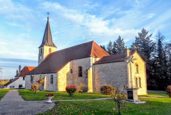 Asnans-Beauvoisin 2021. Eglise Saint-Victor