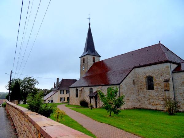 Photo Asnans-Beauvoisin - Asnans-Jura;un jour de pluie.