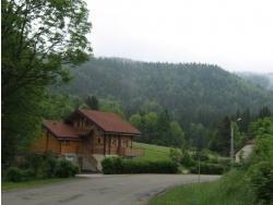 Photo paysage et monuments, Bellefontaine - La sortie du village