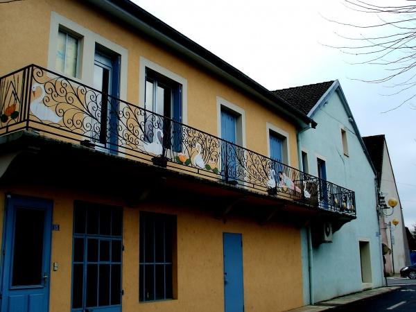 Photo Bletterans - Bletterans:beau balcon...