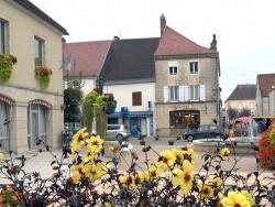 Photo paysage et monuments, Bletterans - Bletterans Jura - Centre ville - Octobre 2015.
