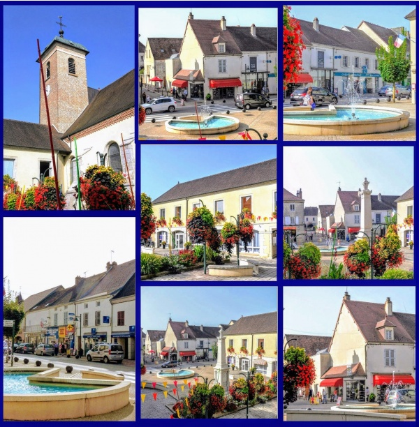 Photo Bletterans - Bletterans Jura. Centre ville. Août 2017. B