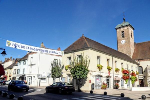 Bletterans Jura. Foire de la mi-septembre 2018.