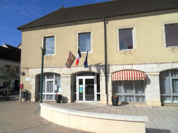 Bletterans Jura; siège de la communauté de communes.A.