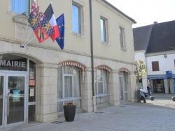 Photo paysage et monuments, Bletterans - Bletterans Jura; Mairie.