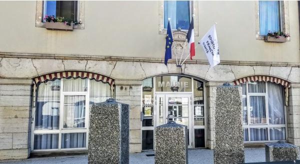 Mairie de Bletterans Jura; 15 juin 2021.