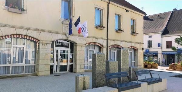 Mairie de Bletterans Jura; 15 juin 2021. B.
