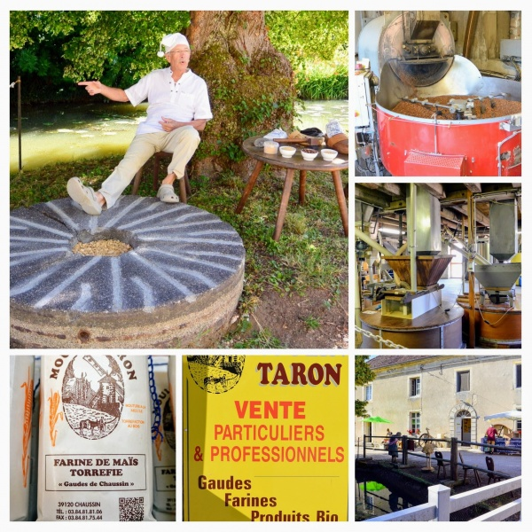 Chaussin Jura.Journée des moulins 2017.Le moulin Taron.