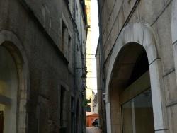 Photo paysage et monuments, Dole - Dole Jura -Décembre 2015.Rue D'enfer.
